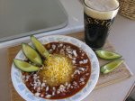 Dinner and a Movie @ Flying Flags - Cashew Chili, Firestone Walker Brewing and Monte Roberts...